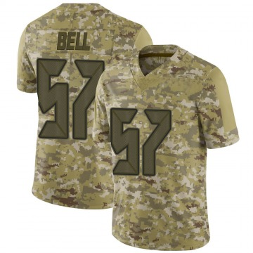 Men's Quinton Bell Tampa Bay Buccaneers Limited Camo 2018 Salute to Service Jersey