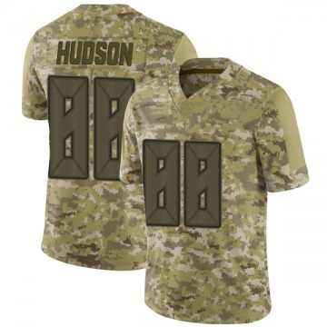Men's Tanner Hudson Tampa Bay Buccaneers Limited Camo 2018 Salute to Service Jersey