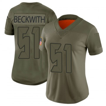 Women's Kendell Beckwith Tampa Bay Buccaneers Limited Camo 2019 Salute to Service Jersey