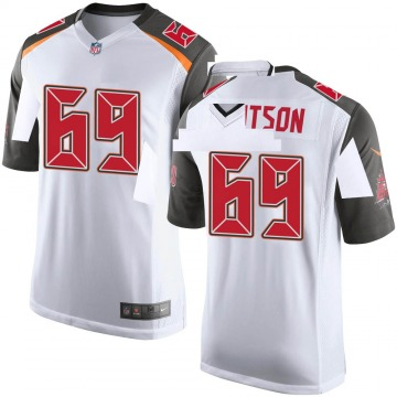 Youth Demar Dotson Tampa Bay Buccaneers Game White Jersey