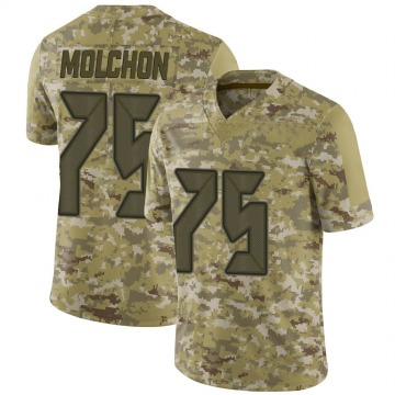 Youth John Molchon Tampa Bay Buccaneers Limited Camo 2018 Salute to Service Jersey