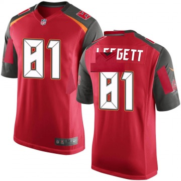Youth Jordan Leggett Tampa Bay Buccaneers Game Red Team Color Jersey