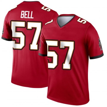 Youth Quinton Bell Tampa Bay Buccaneers Legend Red Jersey
